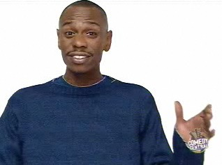 Dave Chappelle in classic 'Switch' ad style